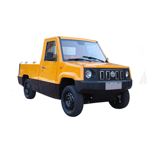 Chinese electric pickup four wheel mini 2 seat electric car for sale