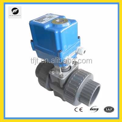 motorised ball valve 2-way automatic control CTF series for HVAC,<strong>industrial</strong>