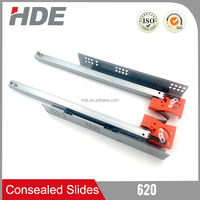 cheap wholesale hydraulic concealed slide , drawer slide
