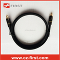 High-end Fiber optical toslink cable with metal shell for PS4/Player/Home theater