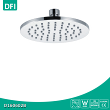 DFI Bathroom brass material brushed rainfall round ceiling shower head