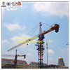 QTZ125F (6015) 10ton Hongda construction & building hydraulic Tower crane, electric crane