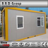 High quality PU sandwich panel shipping container house