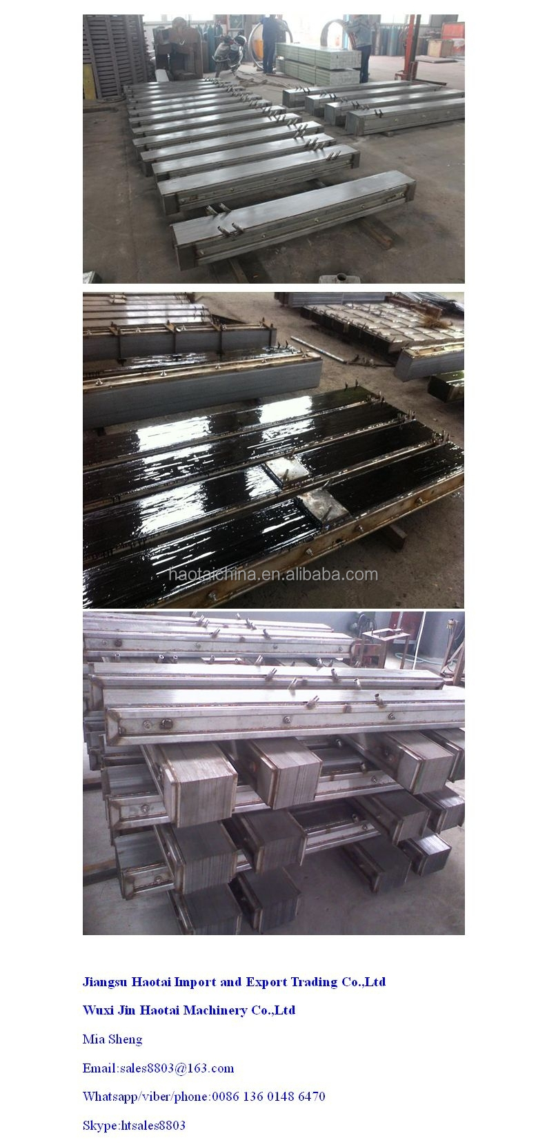 Cast iron/steel foundry magnetic yoke of electric furnace
