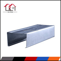 Track runner c-channel metal stud used building partition wall
