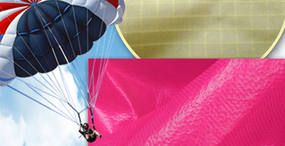 High Strength light weight Nylon Ripstop Fabric for Parachute