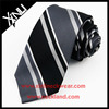 100% Handmade Perfect Knot Jacquard Woven China Silk Necktie Stripe