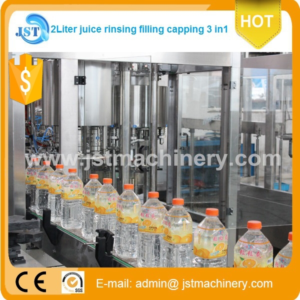 Automatic low price PET bottle fruit juice manufacturing equipment