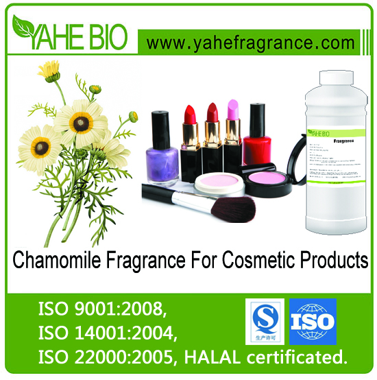 Hot selling Chamomile fragrance for cosmetics liquid fragrance high concentrated fragrance oil for make-up products