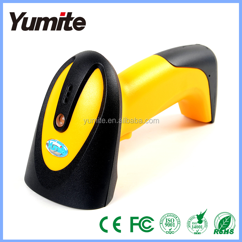 Yumite High scanning speed RJ45 ccd barcode scanner printer combo