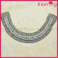 wholesale new arrival cheaper pearl beaded neck designs for ladies suit WNL-1495