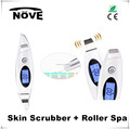 Home Use Sonic EMS iON Skin Scrubber Skin Peeling Exfoliate Machine