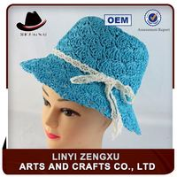 Promotional paper all kinds of straw bucket hat