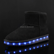 Kids Winter Led Flashing Lights Cheap Warm Snow Boots