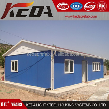 Low Cost Modular Home Prefabricated House for the Poor 17