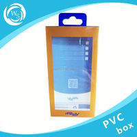 clear pvc box rectangle cube gift packaging display box
