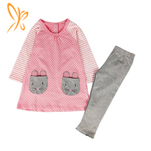 Wholesale autumn and winter children's clothing 2 sets of boutique girls clothing suits