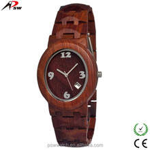 Top quality custom watch for corporate gifts Japan movt quartz wooden watch