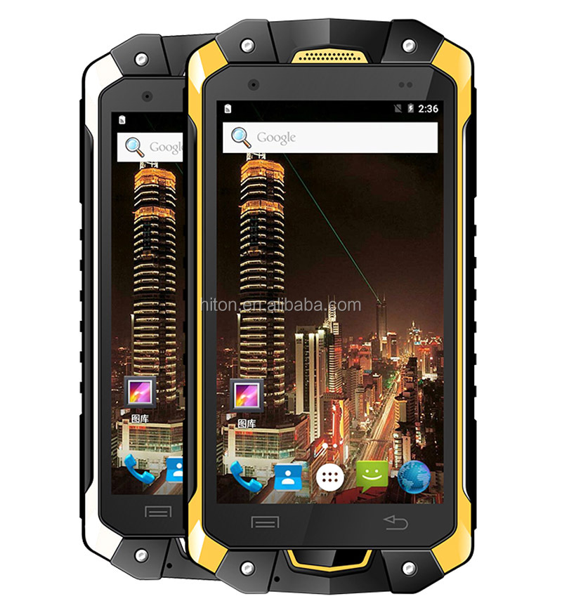 4.5 inch waterproof rugged smartphone 4 g IP68 Walkie Talkie octa core mobile phone 4g
