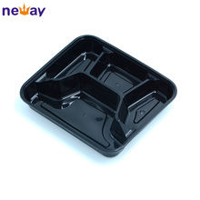 Disposable Plastic Lunch Box For Microwaveable