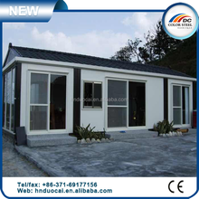Movable foldable prefabricated container house flat, antiseismic modular prefab container house
