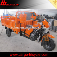 New gas powered tricycle motorcyc le kits/three wheel cargo motorcycle loader