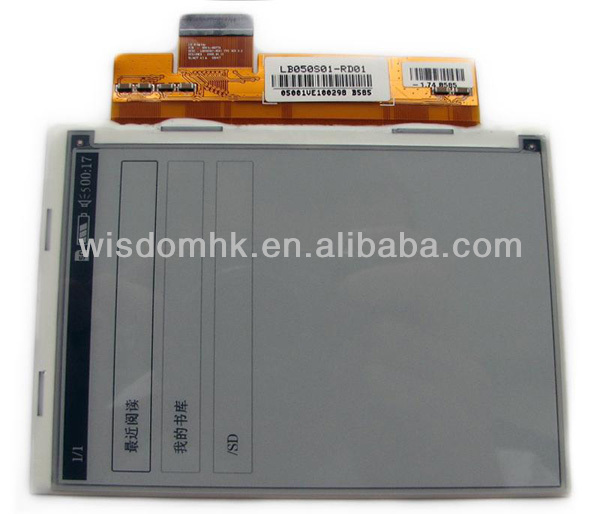 5'' FOR LG E-ink LCD Display Screen LB050S01-RD01 for Sony Ebook reader