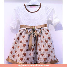 Children Daily Wear Clothes New Design Cute Doll Kid Girl Dress