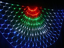 led string/curtain/net light new christmas holiday/garden/streethome decorative outdoor led peacock light