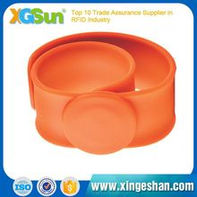 Top Level Passive Print Popular Hot Sale Silicone Rfid Wristband