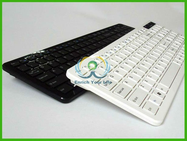 SKM-20 The slim and fashionable 2.4G wireless chocolate keyboard