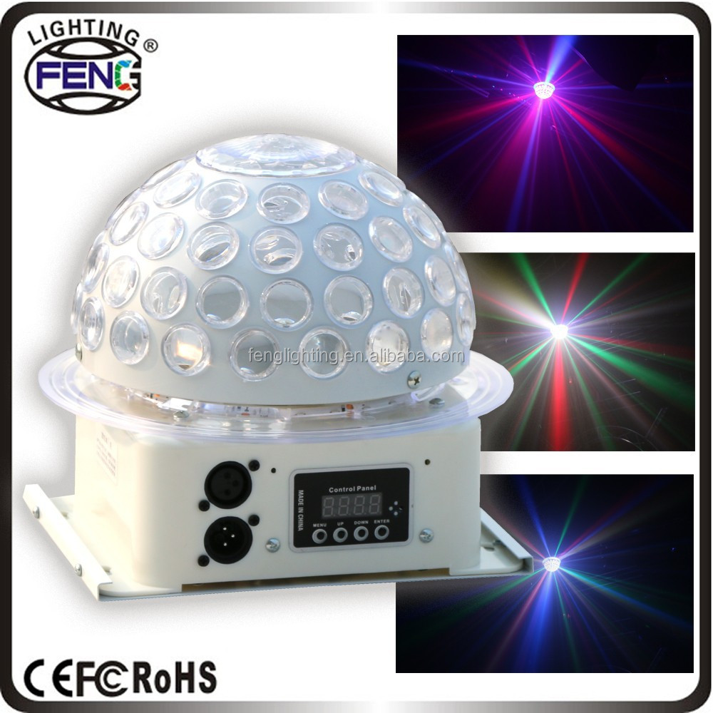 2015 New Mini RGB led Magic Ball light