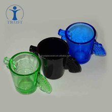 Wholesale Factory Supply Best Price Original Gun-Shaped Colored Wine Glass Cup