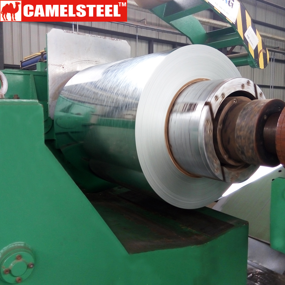 ASTM a653 cs type b g90 galvanized roofing iron sheet in coils from camelsteel