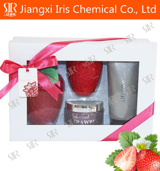 showel gel filled with endless love, bath gift set for christmas