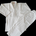 white double weave judo uniform custom judo gi color