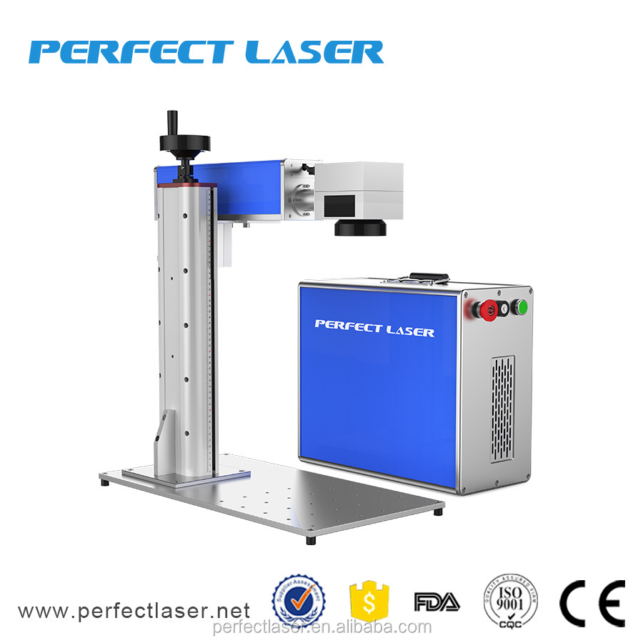 30W, 50W Fiber Laser Deep Engraving Machine for Metals laser rust removal