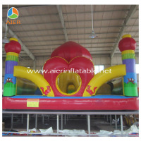 2016 china Red Lantern Giant Bouncy Park Inflatable Fun City for Big Inflatable kids playground