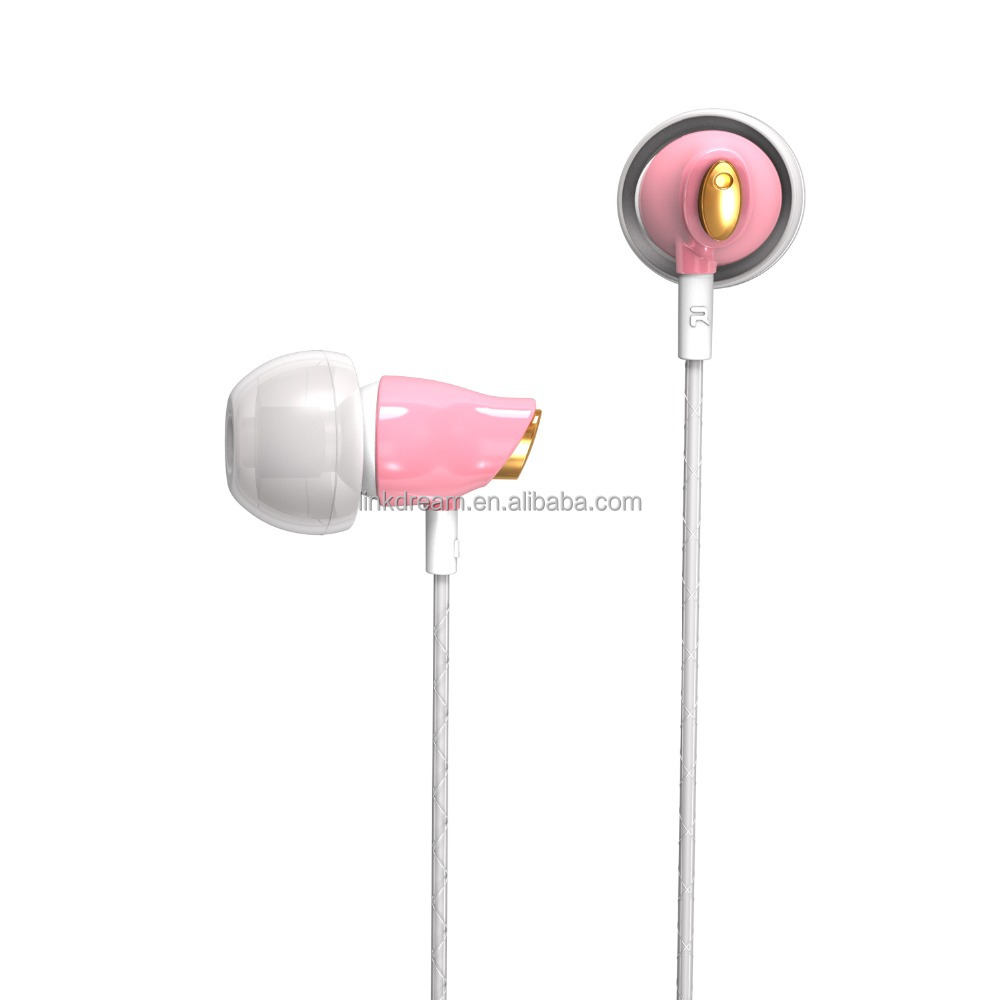 2016 OEM/ODM in ear earphone , stereo earphone ceramic earphone for iphone for samsung for huawei