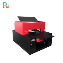 Quality assurance precise printing device for t shirt Digital UV inkjet printer for wood metal glass ceramic plastic