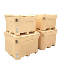 600L Ice box fish transporation cold chain container
