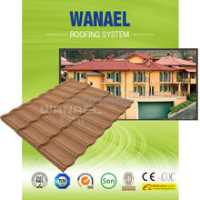 Durability Spanish Red Color Roofing Tile / Types of alu-zinc Corrugated Roofing Sheets/Roofing Material