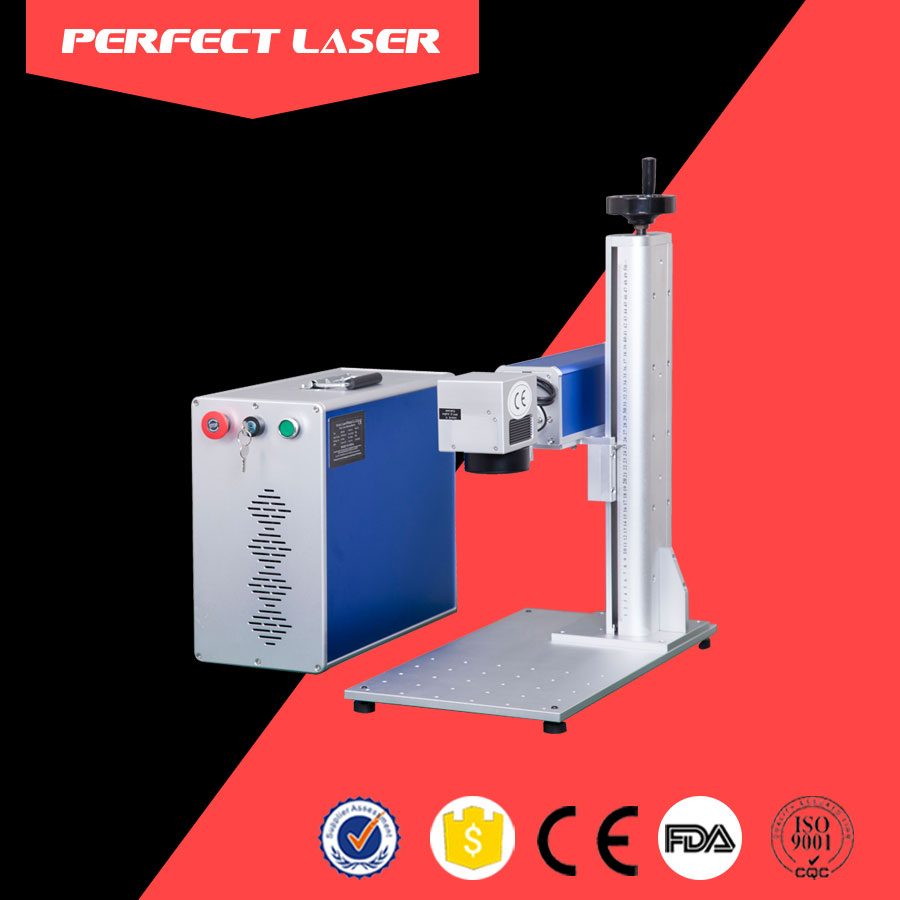 20W fiber laser marking machine for metal,camera,auto parts,buckle