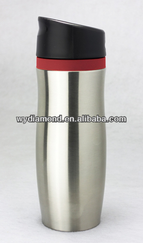 New model stainless steel thermos vacuum flask with 16oz, pass LFGB FDA