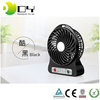 Three Settings Portable Triple Ranges Adjustable Speed Rechargeable Electric Mini Usb Fan with Led Light
