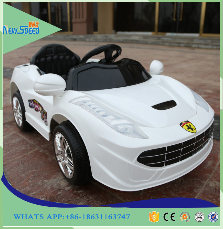 4 Channel cheap remote control children electronic toy car with lights
