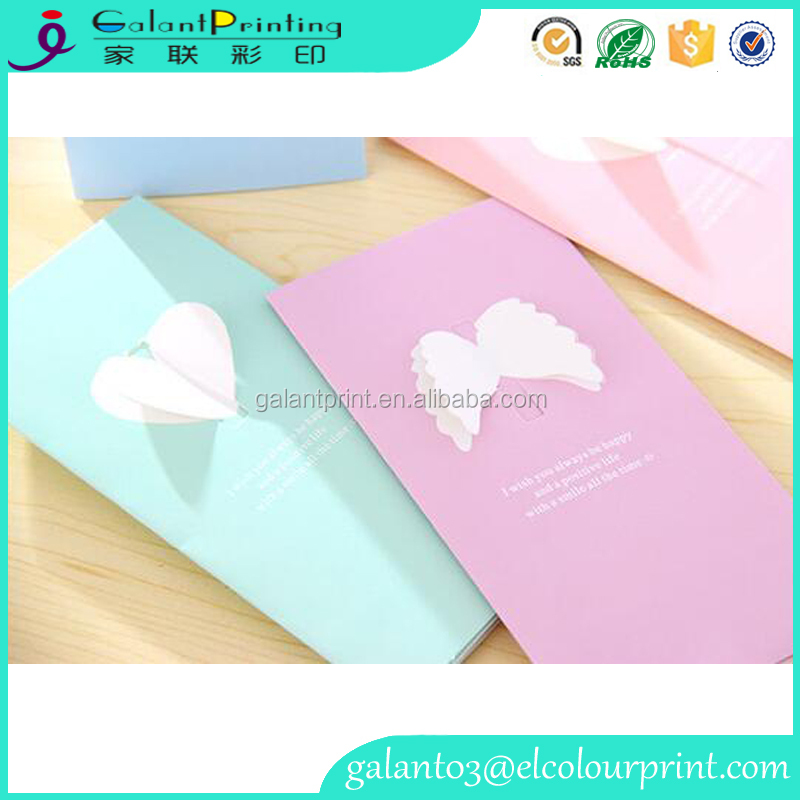 high quality paper holiday greeting card / Christmas cards