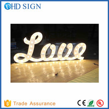 Mr and Mrs sign customized size white letter sign for wedding decoration