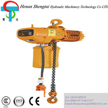 Concrete lifting equipment 25 ton electric chain hoist with 575V