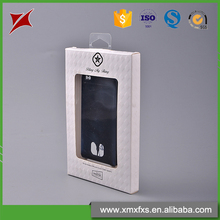 Customized blister mobile phone shell product plastic box packaging with window